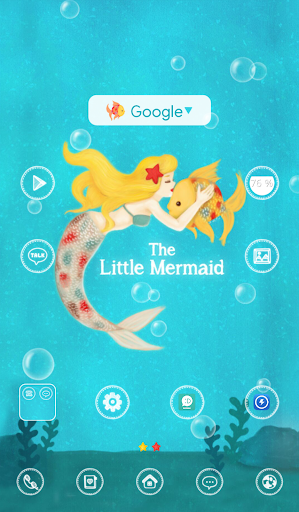 The little mermaid dodol theme