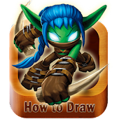 How to Draw Skylanders