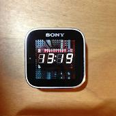 7-seg for Sony SmartWatch