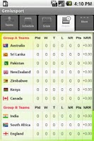 Screenshot of Icc World Cup 2011