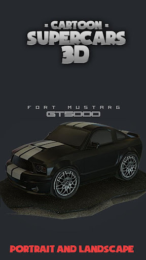 Toon Cars Ford Mustang 3D lwp