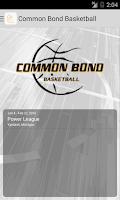 Screenshot of Common Bond Basketball