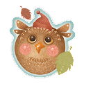 Cute Autumn Owl Free LWP icon