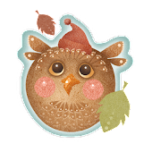Cute Autumn Owl Free LWP