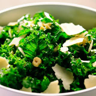 Lemony Kale Salad.