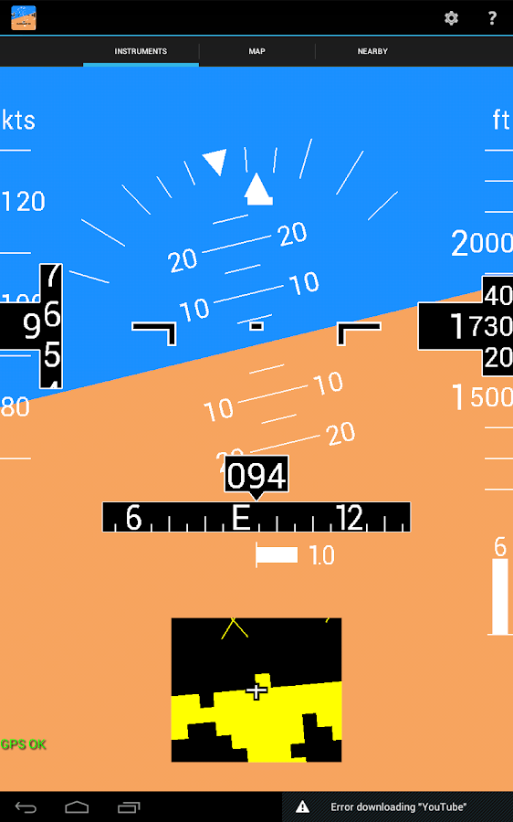 InFlight- screenshot