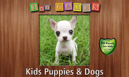 1st Games Kids Puppy Puzzles