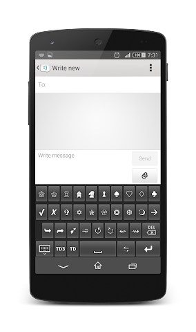 android TypeDroid Pro with Keyboard Screenshot 15