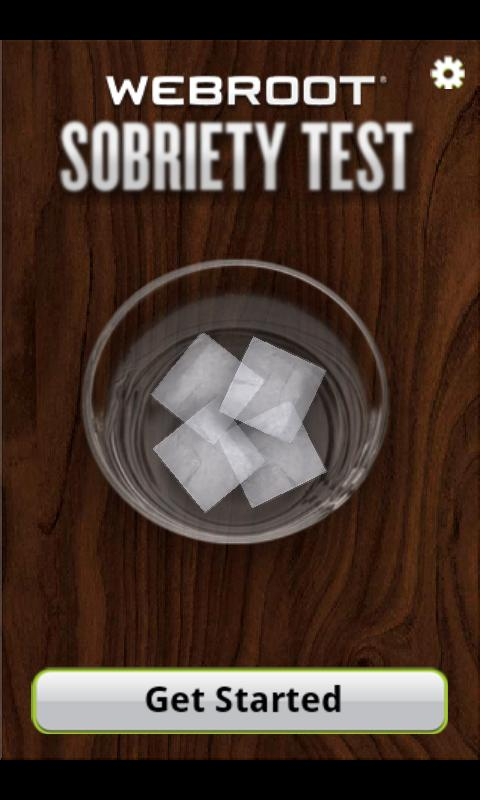 Webroot Sobriety Test - screenshot