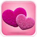 Fluffy Hearts Live Wallpaper icon