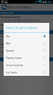 UDOT Citizen Reports - screenshot thumbnail