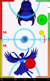 Glow Hockey- Angels vs. Demons- screenshot thumbnail