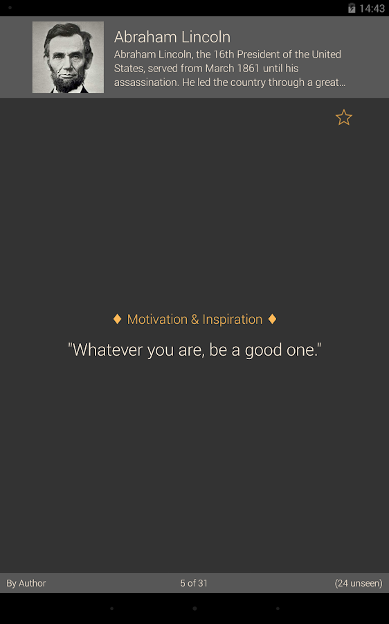 Brilliant Quotes PREMIUM - screenshot