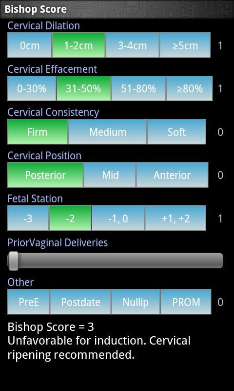 Bishop Score- screenshot