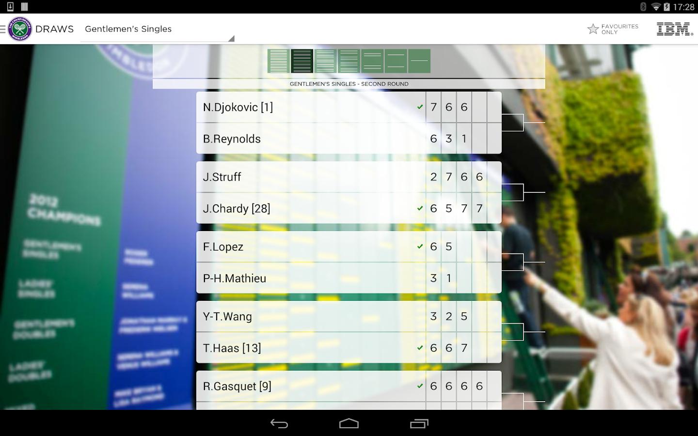 The Championships, Wimbledon - screenshot