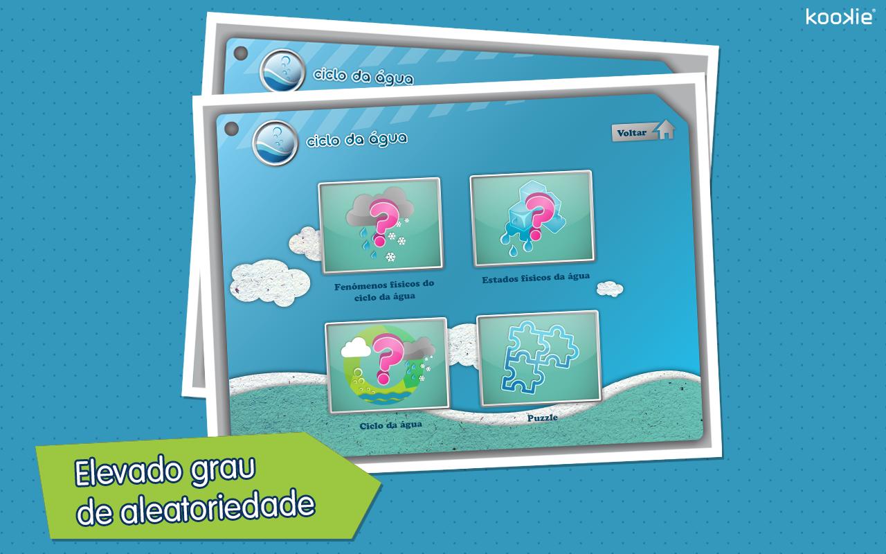 kookie - Ciclo da Água - screenshot