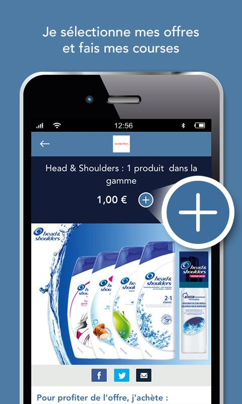 C-wallet, promotions gratuites- screenshot