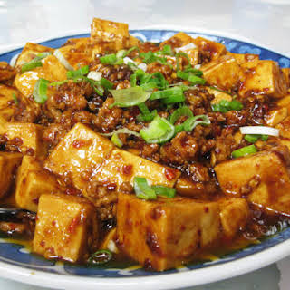 Spicy Tofu with Pork.