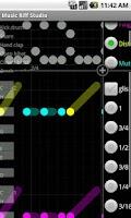 Screenshot of Music Riff Studio