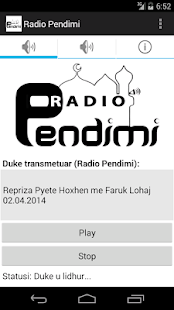 Radio Pendimi - screenshot thumbnail