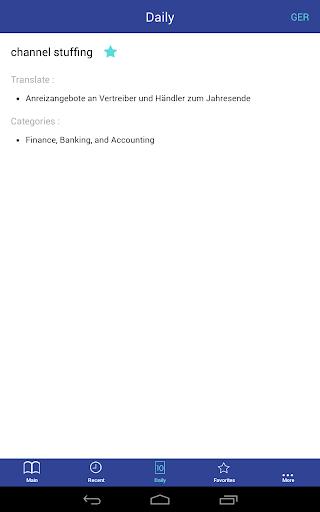 【免費書籍App】Business Dictionary Lite En De-APP點子