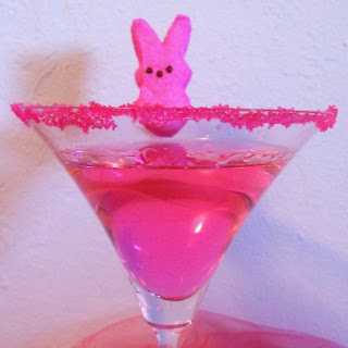 "Easter Candy Cocktail ""Peeptini"""