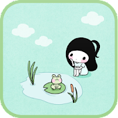Bongja pond go launcher theme