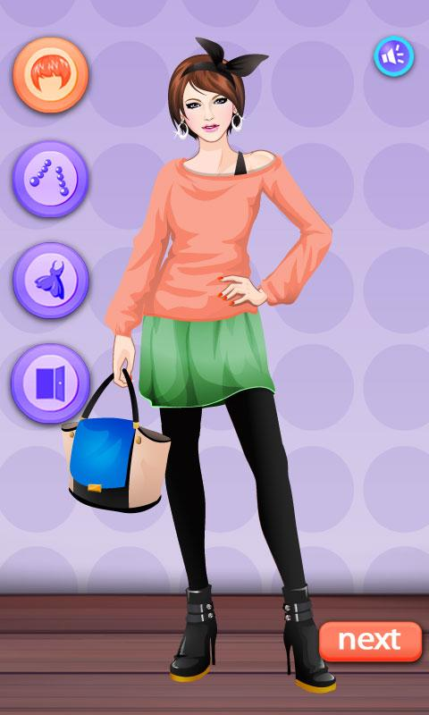 Dress up-Cover Girl - screenshot