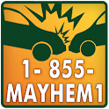 Car Accident? 1-855-Mayhem1 logo
