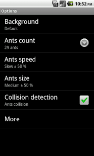 Ants Live Wallpaper - screenshot thumbnail