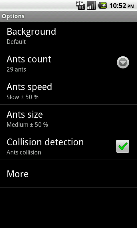 Ants Live Wallpaper - screenshot