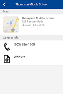 Quinlan ISD- screenshot thumbnail
