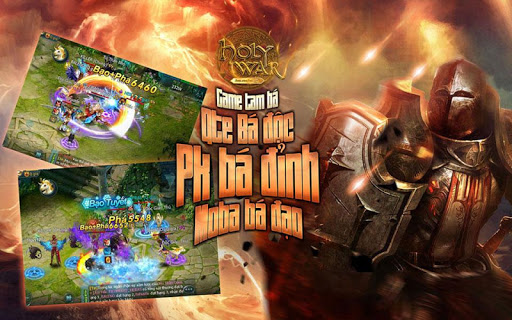 Holy War - QTE quần chiến MOBA