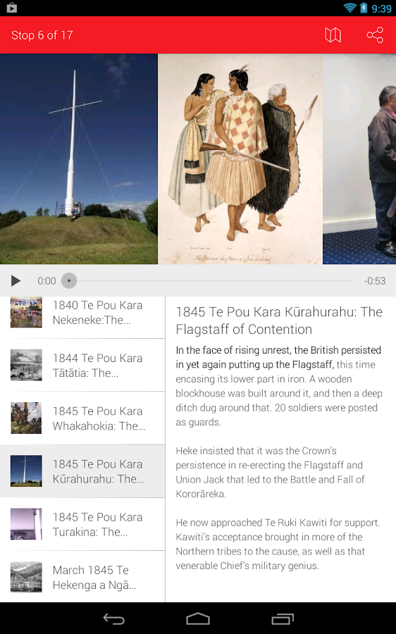 Hikoi Tahi Walking Tours- screenshot
