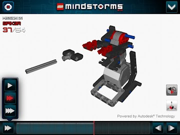 LEGO® MINDSTORMS® 3D Builder Screenshot 3