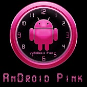 AnDROID PINK Clock Widget
