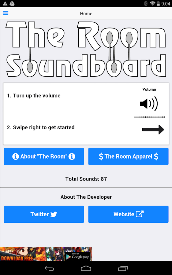 The Room Movie Soundboard - screenshot