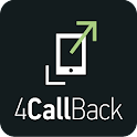 4CallBack - reject & call back icon