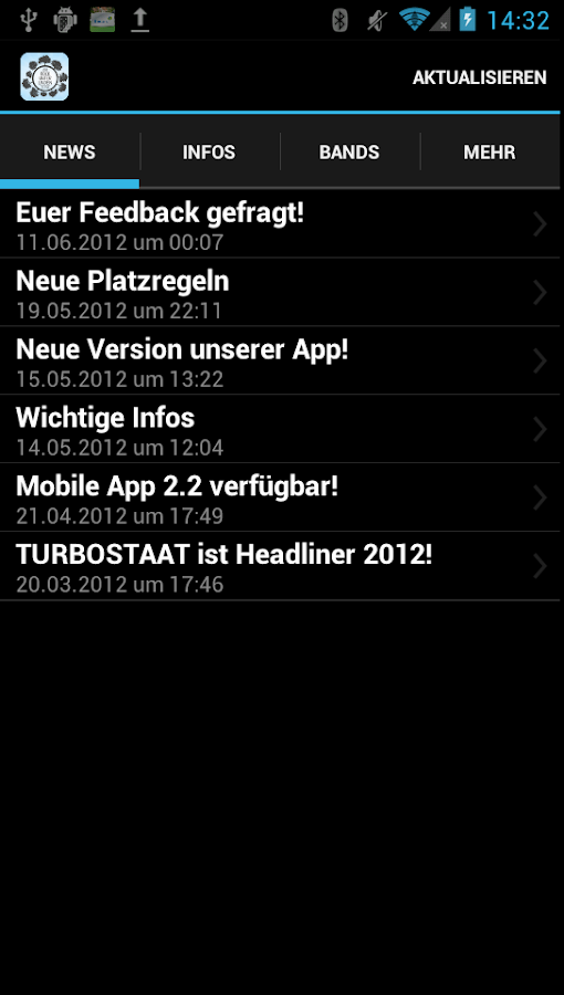 Rock unter Linden 2013 - screenshot
