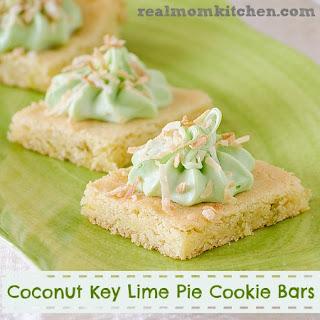 Pink Lemonade and Key Lime Pie Cookie Bars