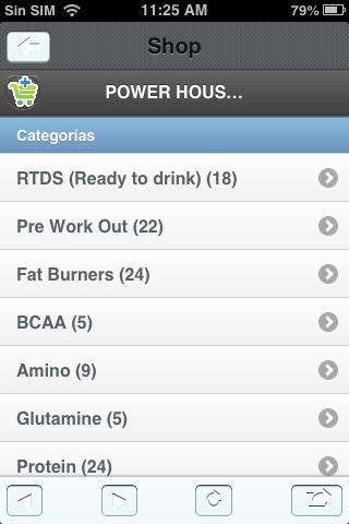 Power House Nutrition - screenshot