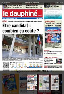 Le Dauphiné Libéré - screenshot thumbnail