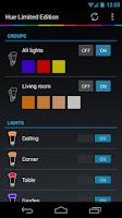Screenshot of Hue Control
