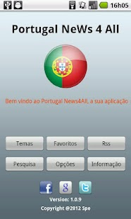 Portugal NeWs 4 All - screenshot thumbnail