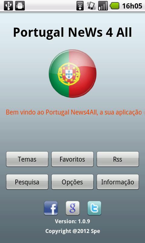 Portugal NeWs 4 All - screenshot