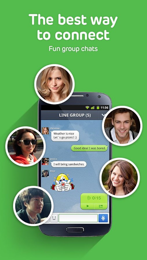 Download LINE: Free Calls & Messages for Android Devices Free