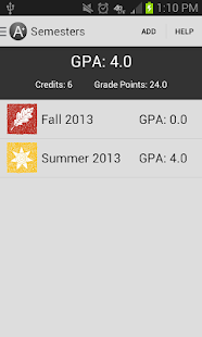 Degree Planner: GPA Calculator - screenshot thumbnail
