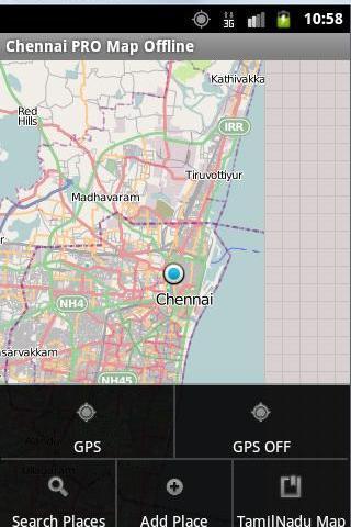 Chennai Map Search Offline PRO