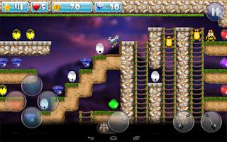 Screenshot of Dig And Run Raccoon!