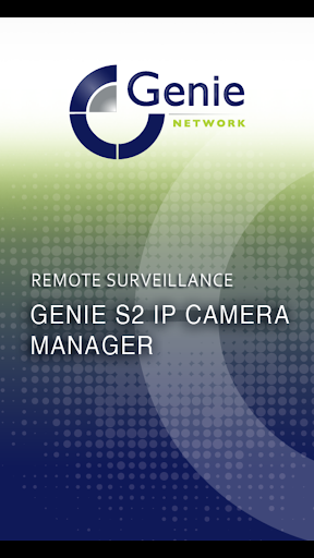 Genie S2 IP Camera Manager